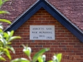 Village Hall sign