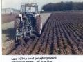 Albert Cuff at ploughing match c1977