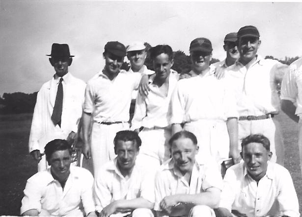 Abbotts Ann Cricket Club early 1920s