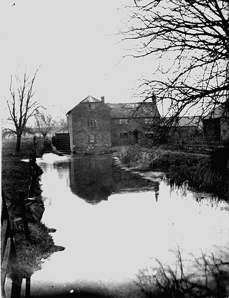 View of Lower Mill, Abbotts Ann