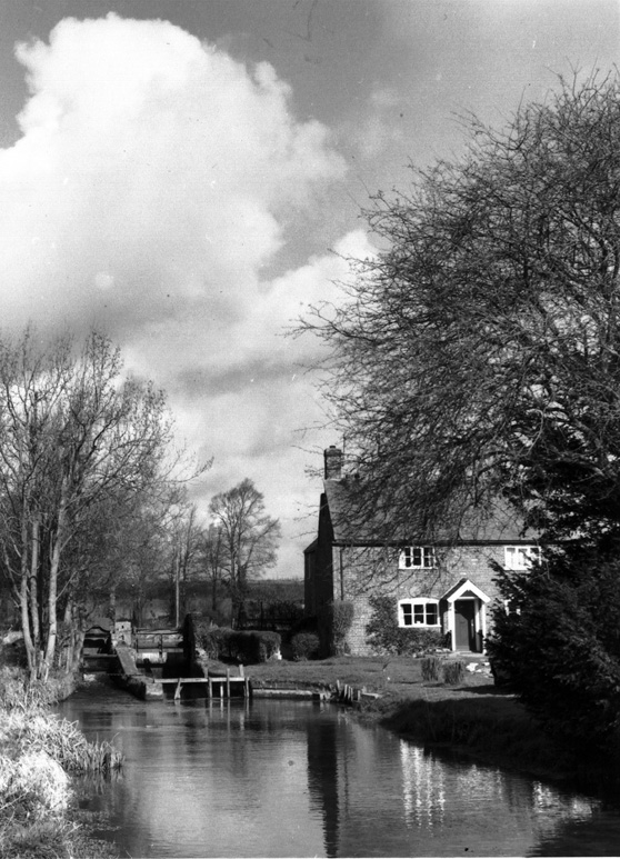 The Mill House, Little Ann by the Pilhill Brook believed to have been taken about 1900