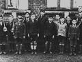Abbotts Ann School gardening class c1930