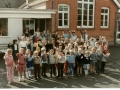 School staff and pupils 1984