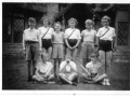 School rounders team c1955