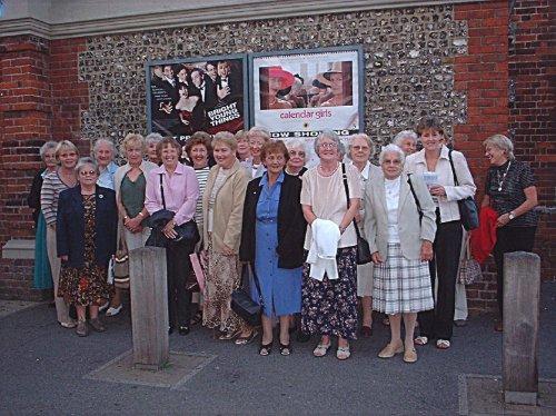 Abbotts Ann WI Calendar Girls