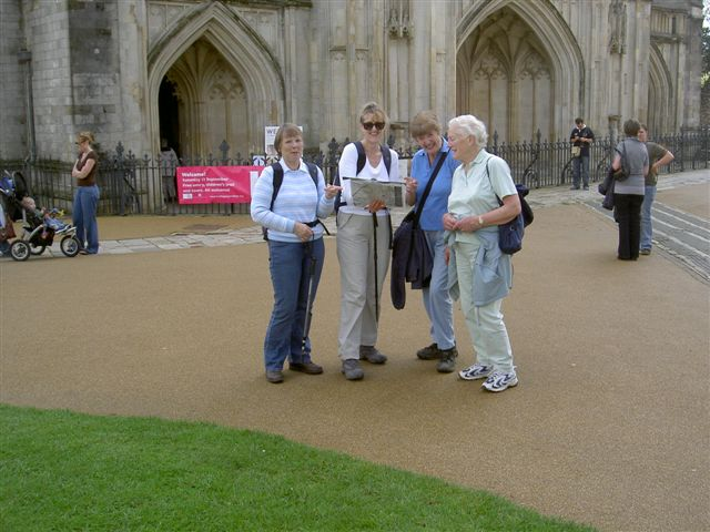 Clarendon Way around Winchester Cathedral 8th September 2008
