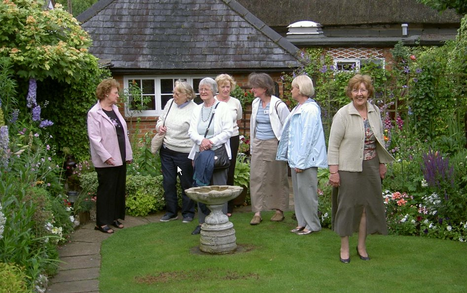 Group Picture at Garden Meander
