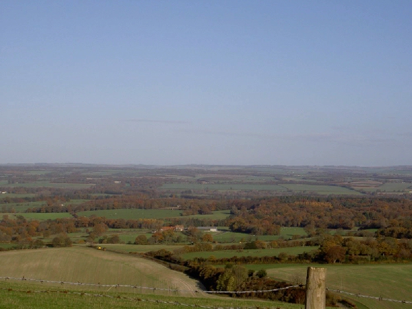 View from Combe Gibbet