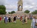 Albert Memorial surrounded by WI