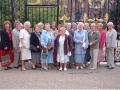The outing to Kensington Palace in September 2002